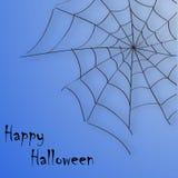Fondo del Web de Halloween Imagen de archivo libre de regalías