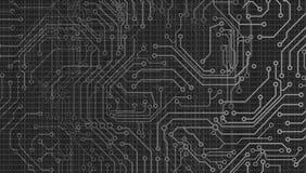 Fondo del web de la tecnolog?a Fondo abstracto de la tecnolog?a de Internet de la velocidad del vector hola ilustración del vector