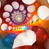 Fondo del web del fractal Imagenes de archivo