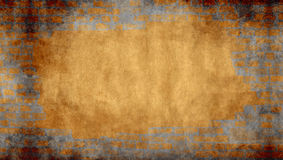 Fondo del yeso con enmarcar de la pared de ladrillo Imagen de archivo libre de regalías