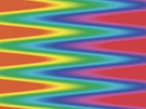 Fondo del zigzag del espectro Foto de archivo