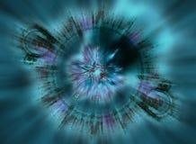Fondo del zoom del fractal Foto de archivo libre de regalías