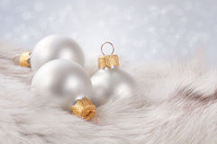 Fondo delicato di Natale. Fotografia Stock