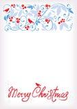Fondo delicato di Natale illustrazione vettoriale