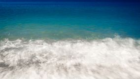 Fondo dell'acqua blu del mare dell'oceano fotografia stock