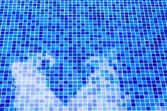 Fondo dell'acqua della piscina della foto Immagini Stock Libere da Diritti
