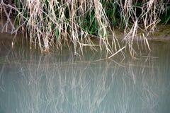 Fondo dell'acqua di fiume fotografie stock libere da diritti