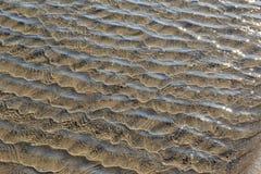 Fondo dell'acqua di mare bassa increspata Immagine Stock Libera da Diritti