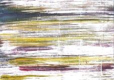 Fondo dell'acquerello dell'estratto della polvere di bambino Fotografie Stock Libere da Diritti