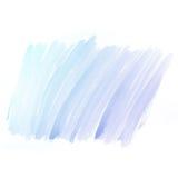 Fondo dell'acquerello. pittura variopinta di colore di acqua blu Fotografie Stock Libere da Diritti