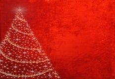 Fondo dell'albero di Natale Immagine Stock