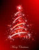 Fondo dell'albero di Natale Immagine Stock Libera da Diritti