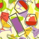 Fondo dell'alcool Fotografie Stock Libere da Diritti