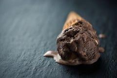 Fondo dell'alimento del gelato Fotografie Stock