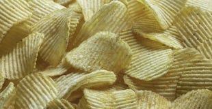 Fondo dell'alimento delle patatine fritte Immagine Stock