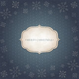 Fondo dell'annata di Natale Fotografie Stock Libere da Diritti
