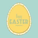 Fondo dell'annata di Pasqua Fotografia Stock