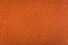 Fondo dell'arancia del cemento Immagine Stock