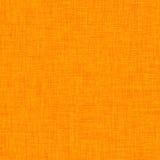 Fondo dell'arancia del lino Fotografia Stock Libera da Diritti