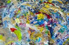 Fondo dell'arcobaleno Fotografia Stock
