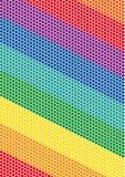 Fondo dell'arcobaleno Fotografia Stock Libera da Diritti