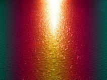 Fondo dell'arcobaleno sulle gocce di acqua Fotografia Stock