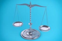 fondo dell'equilibrio 3D o della scala per la misura Immagini Stock