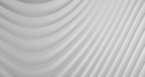 fondo dell'estratto 3D di Grey White Curve Lines, illustrazione royalty illustrazione gratis