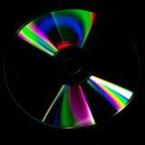 Fondo dell'estratto del disco del CD fotografia stock