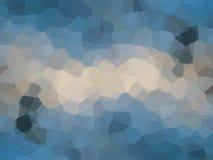 Fondo dell'estratto del filtro da effetto di pixelation del triangolo Immagine Stock