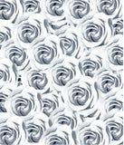 Fondo dell'estratto del modello di struttura della rosa di bianco illustrazione di stock