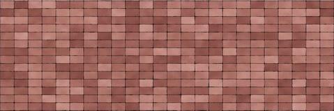 Fondo dell'estratto del muro di mattoni di Brown Struttura dei mattoni Pietra decorativa Ampia illustrazione di vettore illustrazione di stock