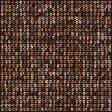 Fondo dell'estratto del pixel di Brown Immagine Stock