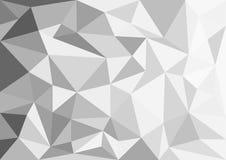Fondo dell'estratto di Gray Polygon Fotografia Stock Libera da Diritti