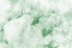 Fondo dell'estratto di struttura del modello/superficie di marmo verdi di struttura della pietra di marmo dalla natura Immagini Stock