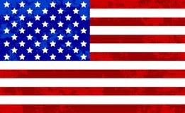 Fondo dell'estratto di struttura di lerciume della bandiera di U.S.A. royalty illustrazione gratis