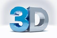 fondo dell'icona 3D Immagini Stock
