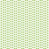 fondo dell'icona dei trifogli Immagine Stock