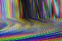 Fondo dell'illustrazione di impulso errato Retro errore dello schermo di tecnologia Progettazione dell'estratto di rumore del pix Fotografia Stock