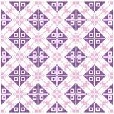 Fondo dell'incrocio Ornamenti geometrici Immagini Stock Libere da Diritti