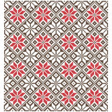 Fondo dell'incrocio Ornamenti geometrici Fotografia Stock