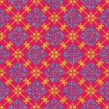 Fondo dell'incrocio Ornamenti geometrici Illustrazione di vettore Fotografia Stock