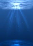 Fondo dell'oceano Fotografia Stock