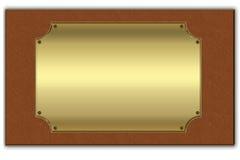 Fondo dell'oro Fotografie Stock