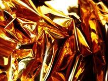 Fondo dell'oro Fotografie Stock Libere da Diritti