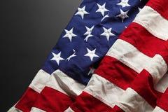 Fondo della bandiera americana Fotografie Stock