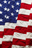 Fondo della bandiera americana Fotografie Stock Libere da Diritti