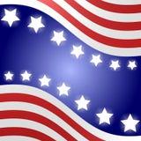 Fondo della bandiera americana Fotografia Stock Libera da Diritti