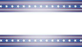 Fondo della bandiera americana, illustrazione Fotografia Stock Libera da Diritti