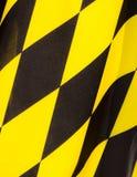 Fondo della bandiera di Monaco di Baviera Fotografia Stock